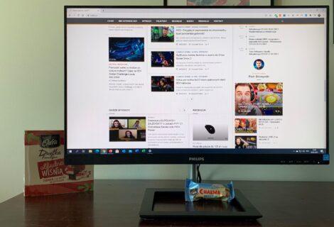 Monitor Philips 242E1GAJ – stylowo i gamingowo?