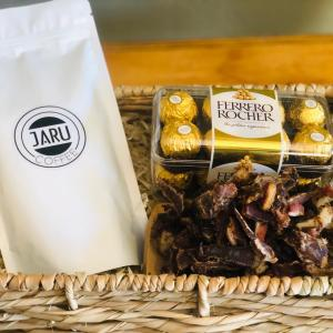 Biltong and Ferrero Rocher Gift Basket For Him