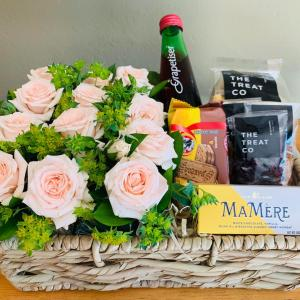 Roses and Grapetiser Gift Basket For Her
