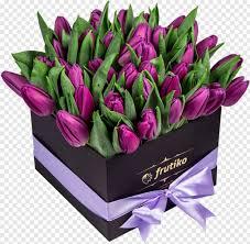 Stunning Tulip Box - Purple