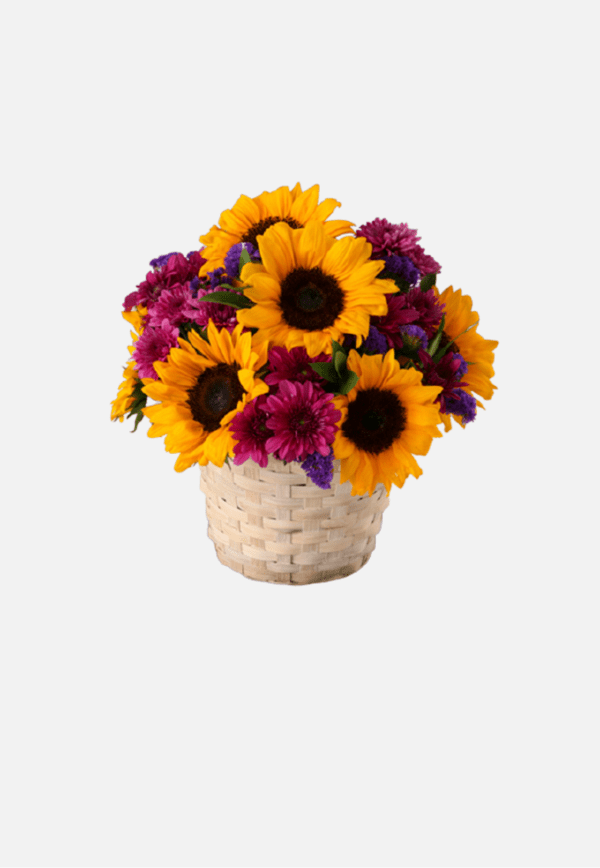 Sunflower Basket - Mothers Day Flowers