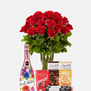 Roses Chocolate & Bubbly
