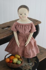 Marti's doll loves helping in the garden. She has such a green thumb!