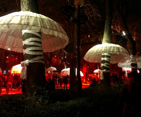 Fête des lumières - Place Sathonay