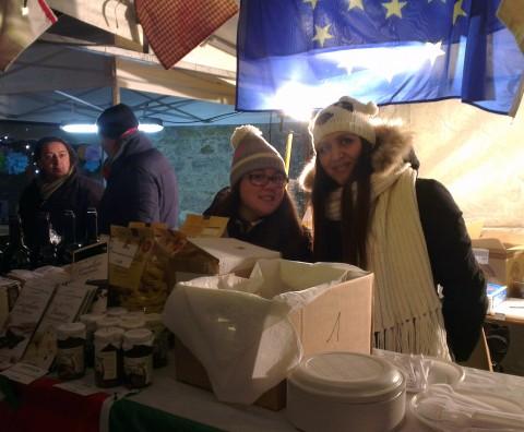Stand de Corciano sur le Marché de Noël
