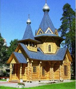 деревянный храм киев