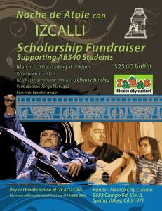 Izcalli Fundraiser