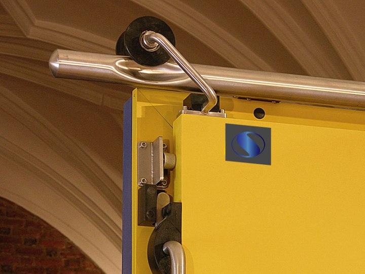 Двери раздвижные-изделия из нержавейки