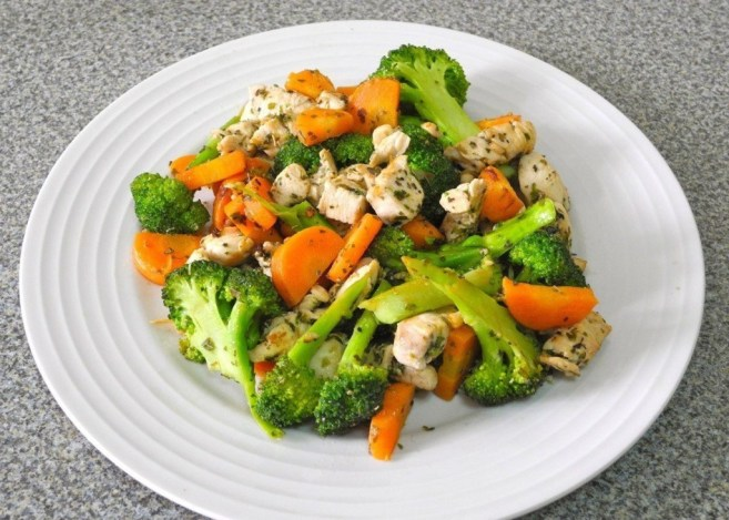 Как приготовить курицу с брокколи