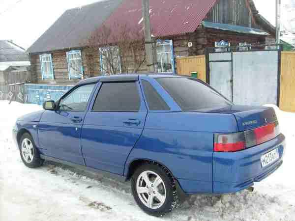Ваз 2110 Фото Синяя