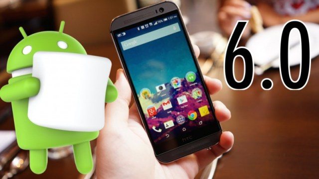 HTC One M8 Android Marshmallow