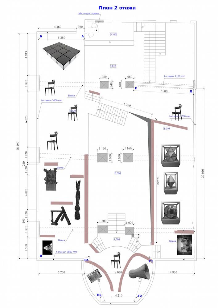 2.«Резня о минимале» (план выставки)