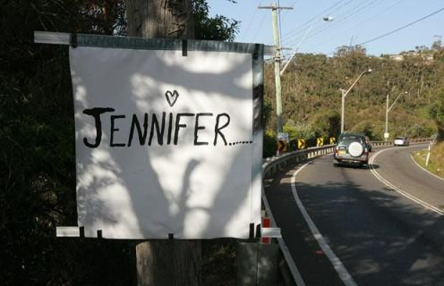 An unusual marriage proposal on telephone poles! (5 pics)