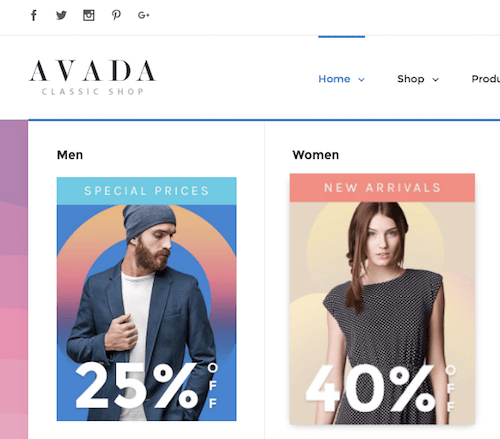 avada classic shop theme review