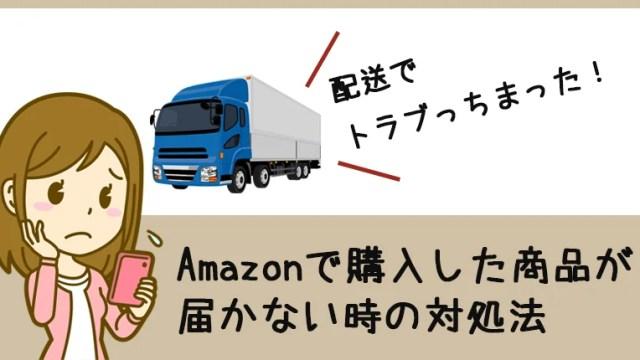 Amazonで注文した荷物が届かない!そんな時の対処法はカスタマーサービスへ連絡することです