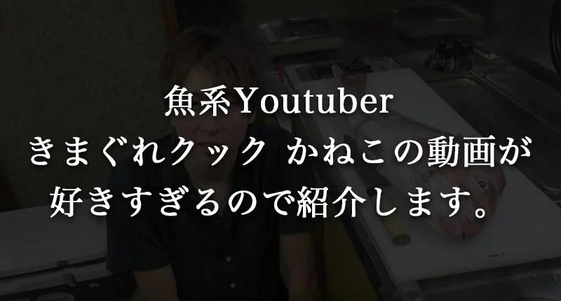 魚系Youtuberきまぐれクックかねこのプロフィールを紹介【年齢/事務所/包丁など!】