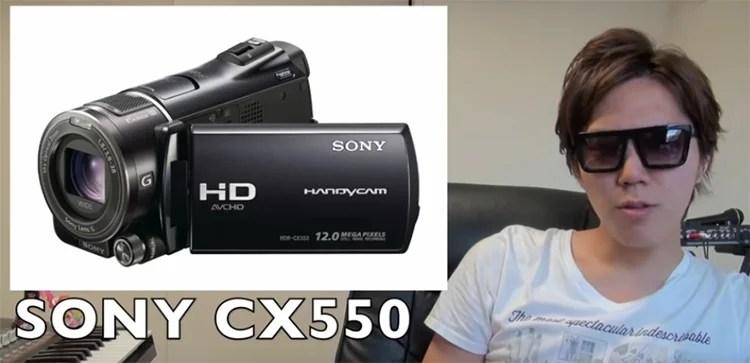 ヒカキン使用カメラ1:SONY CS550