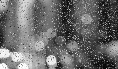 Angry raindrops...