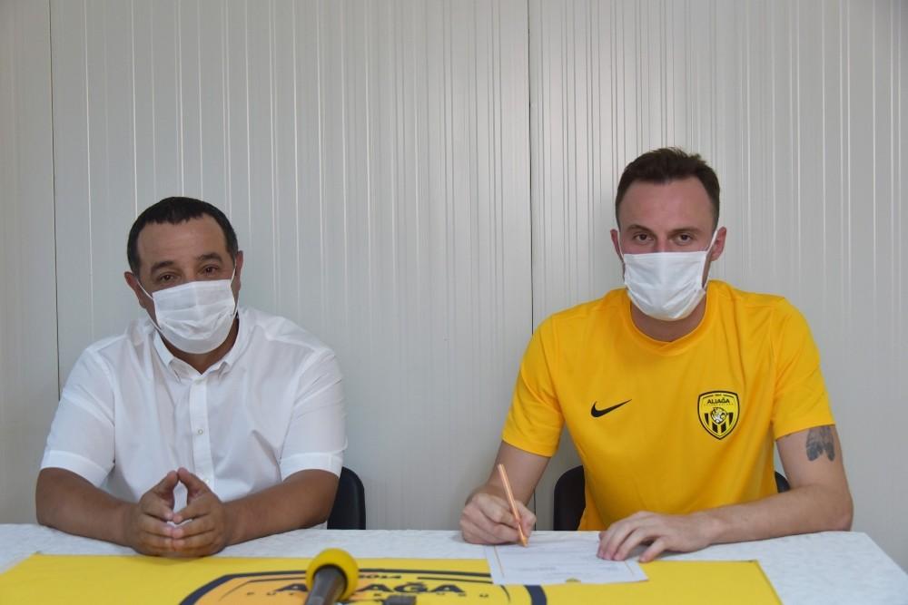 Aliağaspor FK, bir yıldızla daha anlaştı