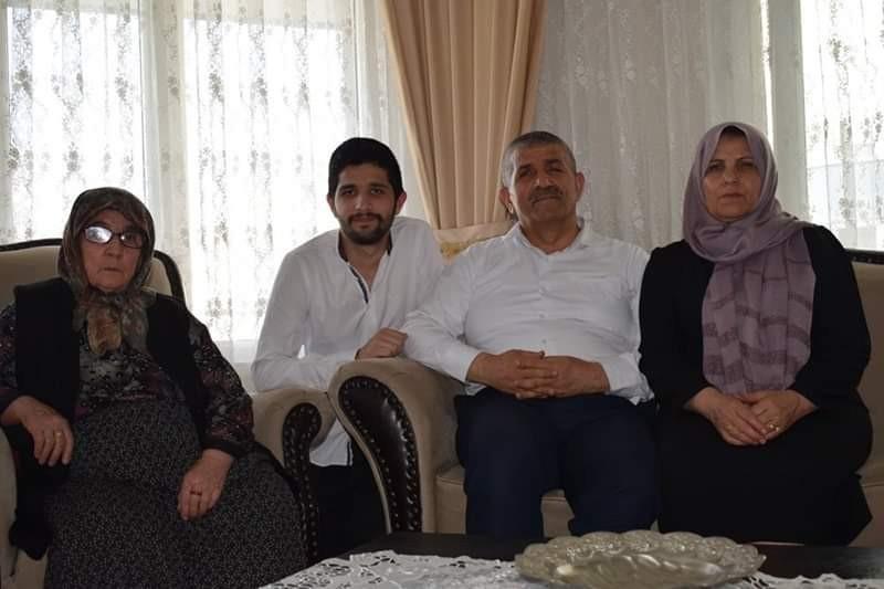 MHP İzmir İl Başkanı Veysel Şahin'in acı günü