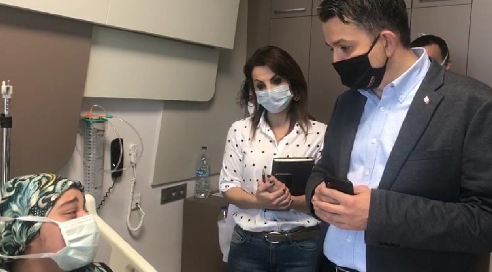 Bakan Pakdemirli'den hastanede ziyaret ettiği Buse'ye duygulandıran itiraf