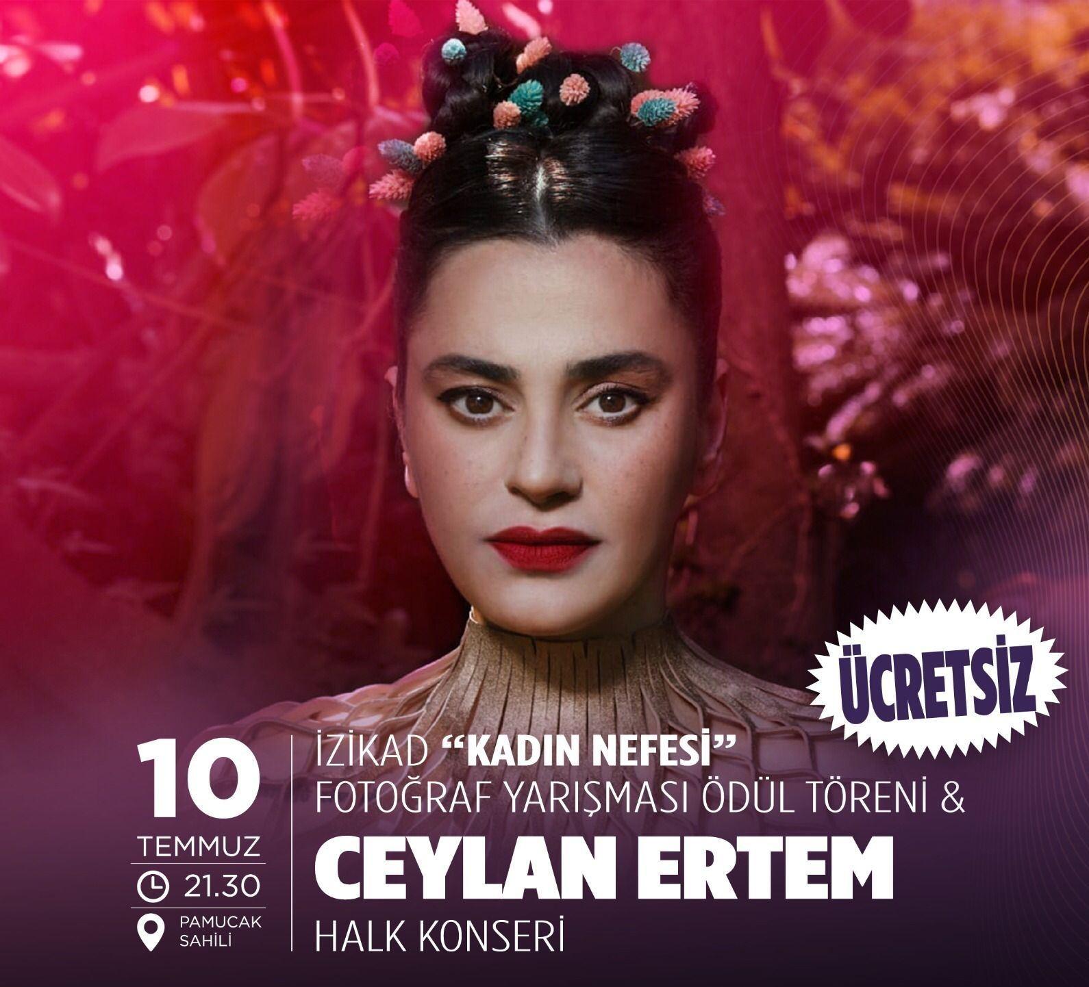 Ceylan Ertem Selçuk'ta konser verecek