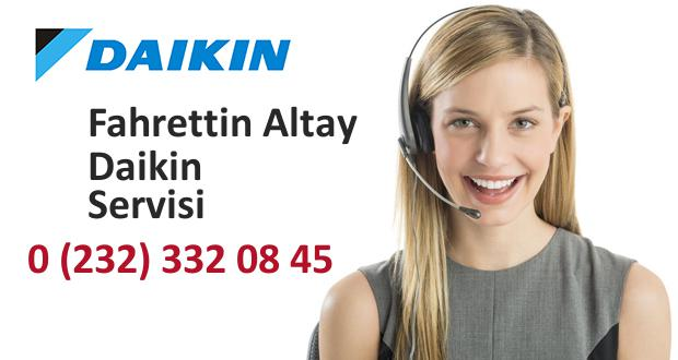 İzmir Fahrettin Altay Daikin Servisi