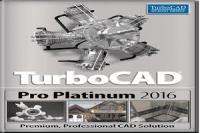 TurboCAD Pro Platinum 2016 23.2 Full Crack + Keygen