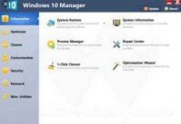 Yamicsoft Windows 10 Manager 3.1.6 Crack Download