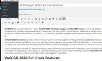VariCAD 2020 v1.00 Keygen With Crack Free Download