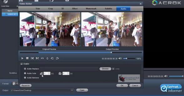 Acrok Video Converter Ultimate 6.8.104.1486 Free Download