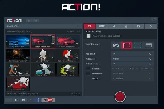 Mirillis Action! 4.0.3 Full Version