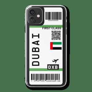 Coque iPhone billet d'avion