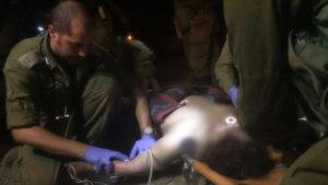 Az egyik szír sebesült