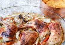 Sült csirke Arakkal és vérnaranccsal - fotó: Gabi Berger