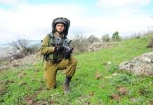 Izraeli goláni katona
