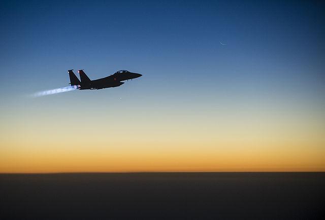 Izraeli légicsapás Szíriában
