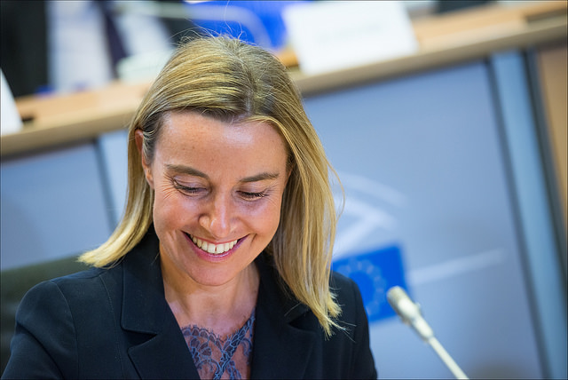 Federica Mogherini - fotó: European Parliament / Flickr