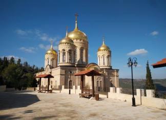 Moszkovia orosz kolostor, Ein Kerem - Fotó: Grünhut Éva