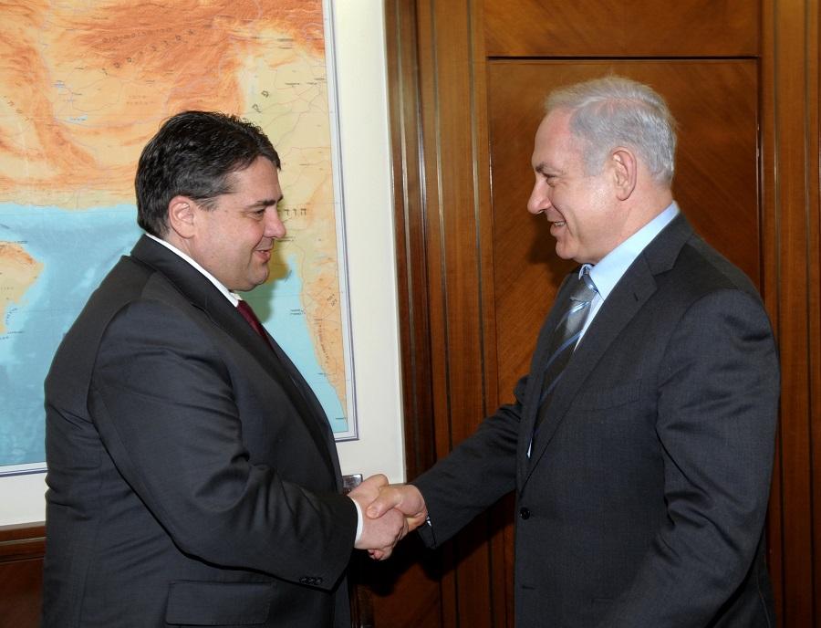 Netanjahu nem fogadta a német külügyminisztert, mert az civil szervezetekkel találkozott