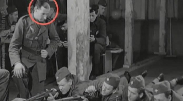 Raoul Wallenberg lőni tanít - képernyőfotó / dn.se