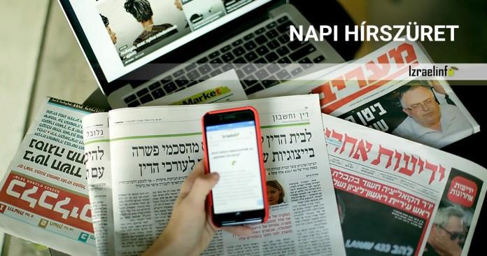 Napi Hírek Izraelből