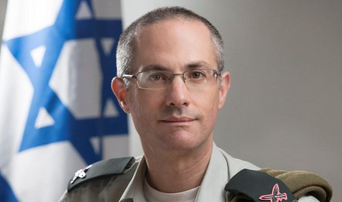 Sharon Afek vezérőrnagy - fotó: IDF