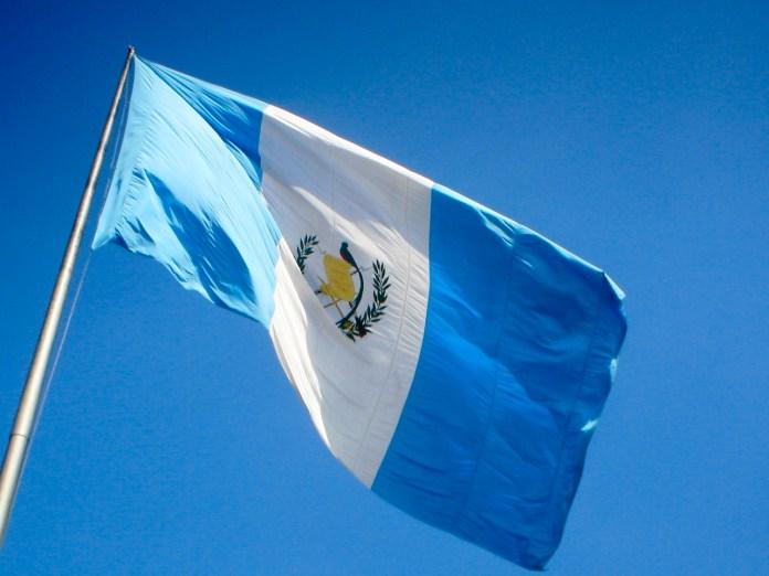Guatemala zászlaja - fotó: Wikipedia
