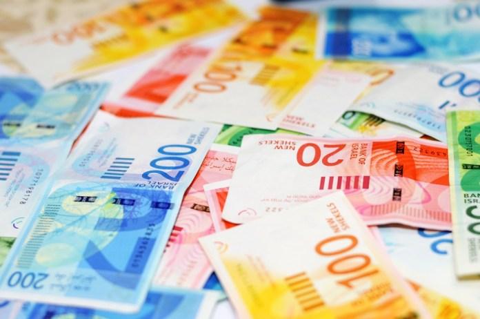 Az új izraeli bankjegyek - fotó: The World in HDR / Shutterstock