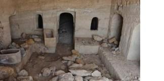 A temetkezési barlang - fotó: Miki Peled / Izraeli Régészeti Hatóság