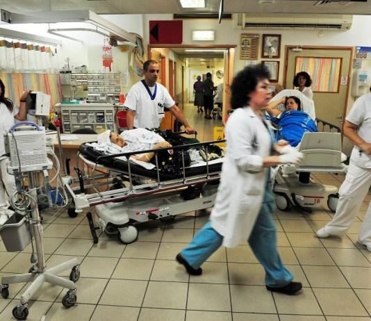 izraeli korhaz betegek orvosok noverek