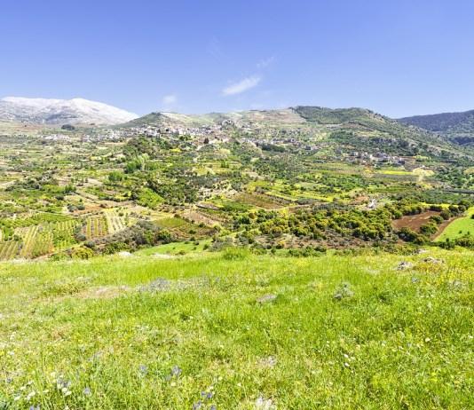 golan fennsik druz falu hegyek izrael hermon