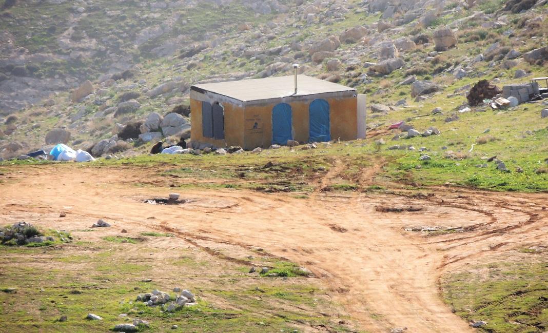 telepes haz ciszjordaniaban