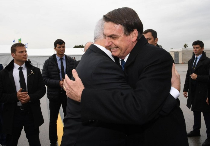 Jair Bolsonaro benjamin netanjahu